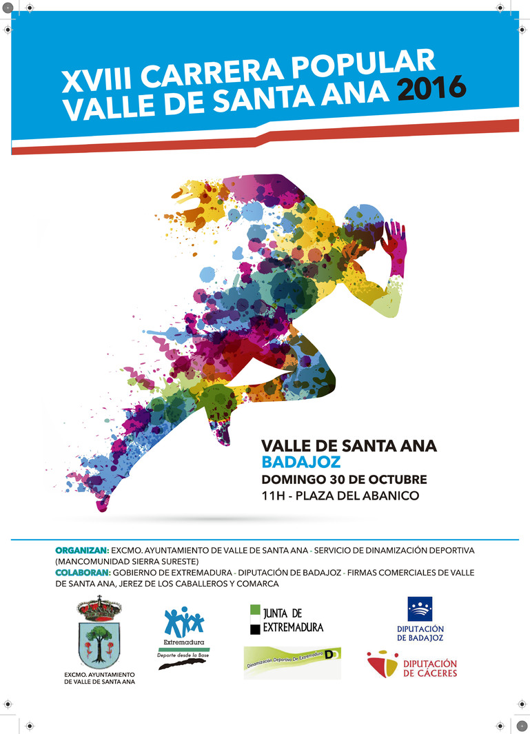 Normal xviii carrera popular valle santa ana 2016