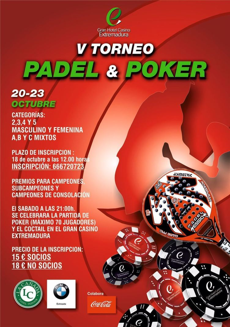 Normal v torneo de padel poker