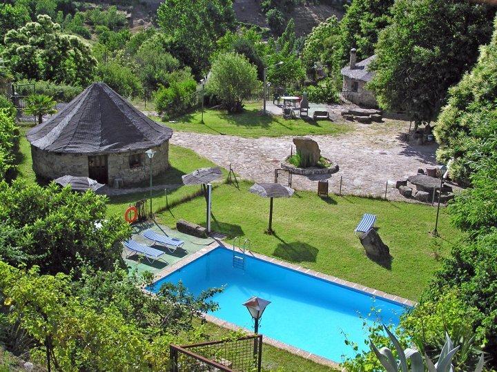 Apartamento rural el solitario apartamento rural en - Termas de banos de montemayor ...