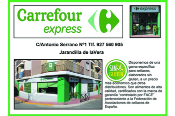 Normal carrefour express jarandilla