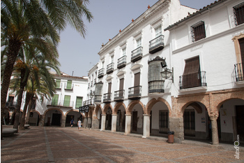 Normal plaza grande de zafra