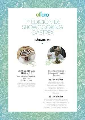 Normal normal 1 edicion show cooking gastrex sabado 20