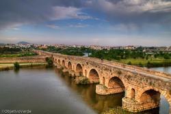 Paisajes extremenos puente romano de merida dam preview