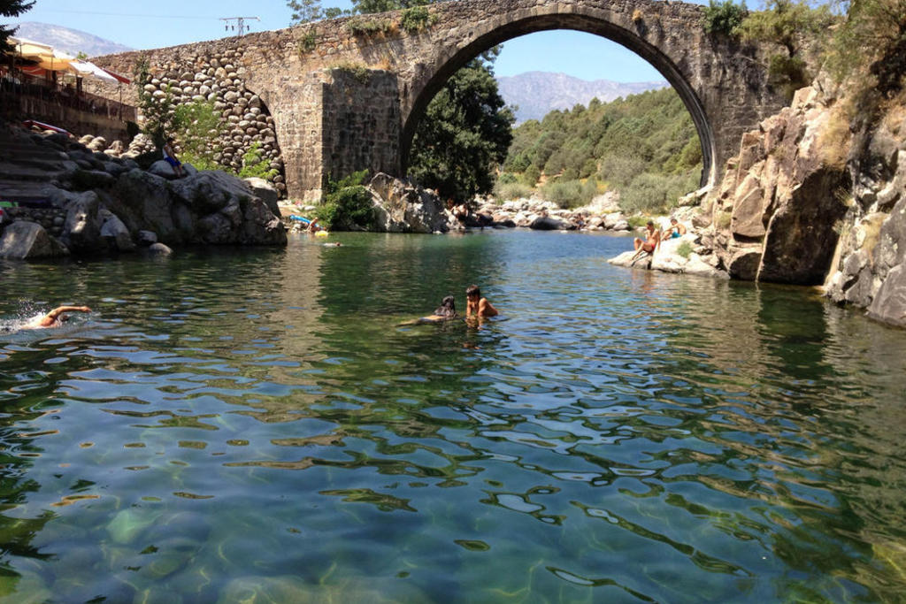 habilitadas las piscinas naturales del valle del jerte