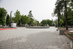 Plaza espana zafra dam preview
