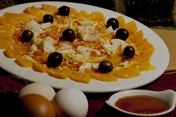 Restaurante casa manadero ensalada de nranja dam preview