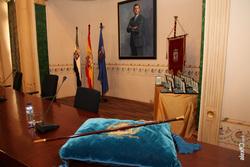 Miguel angel gallardo constitucion de la diputacion de badajoz legislatura 2015 2019 baston de mando dam preview