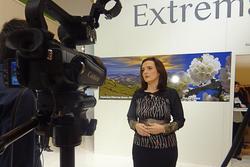 Fitur 2013 making off set tv extremadura extremadura en fitur 2013 making off set tv stand extremadu dam preview