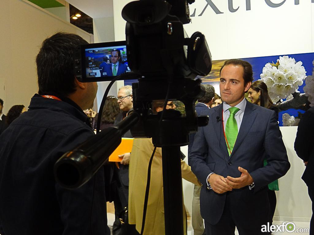 Fitur 2013-Making off Set TV Extremadura 26a59_3afe