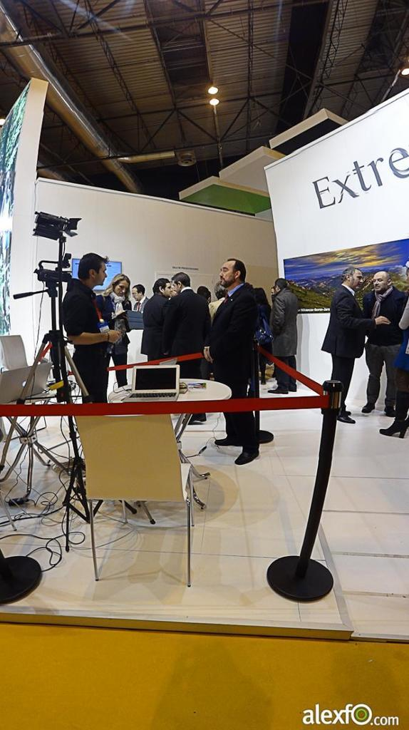 Fitur 2013-Making off Set TV Extremadura 26a63_ac19