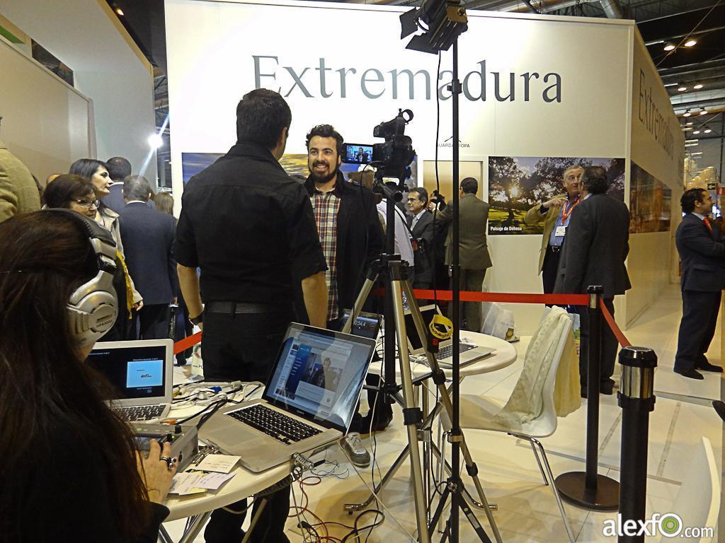 Fitur 2013-Making off Set TV Extremadura 26a7d_01ff