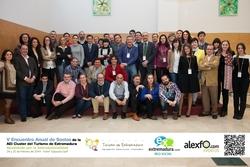 Participantes v encuentro cluster turismo de extremadura foto grupo encuentro cluster img 9642 parti dam preview