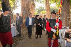 Acto de entrega del itinerario cultural europeo a las rutas de carlos v monasterio de yuste 02102015 dam preview