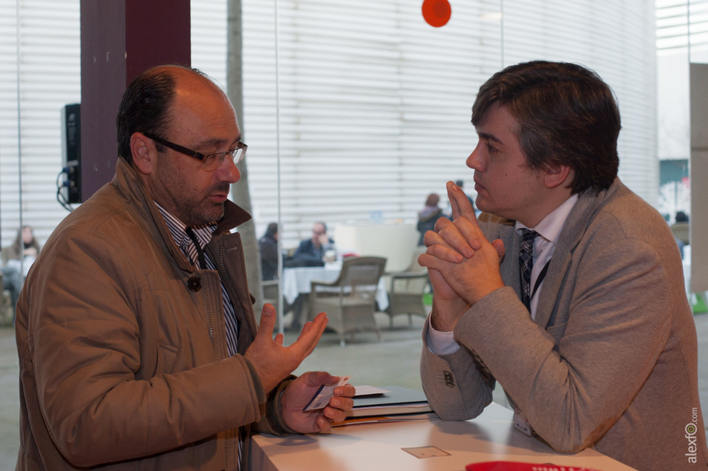 Networking: Encuentros de trabajo - Congreso InnoCámaras Meeting Point 2014 Extremadura _44X0949