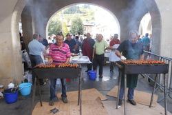 Lunes 20 de octubre de 2014 xviii edicion de la feria gastronomico folklorica de las comunidades en  dam preview