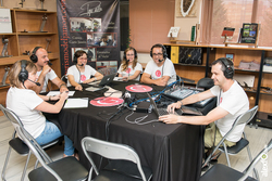 Grabacion del podcast experienciate con el equipo de la gira gilbert y gaillard extremadura 2014 gra dam preview