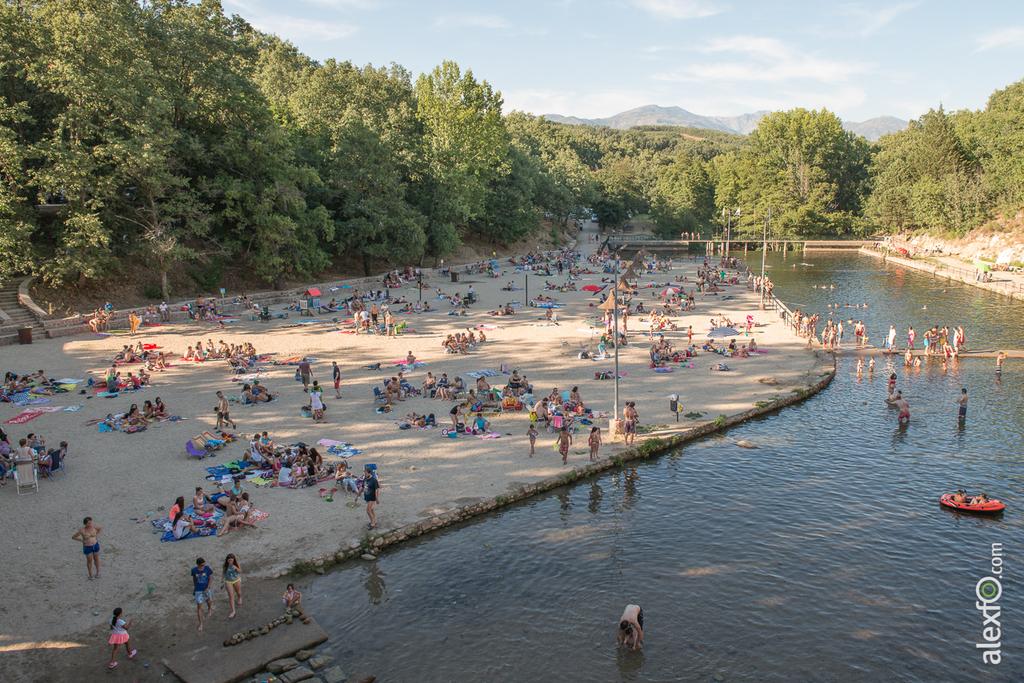 La gira gilbert y gaillard extremadura 2014 en las for Piscinas naturales jaraiz de la vera