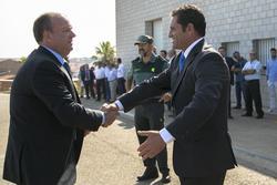 Gobex visita a corte de peleas el presidente del gobierno de extremadura jose antonio monago inaugur dam preview