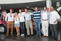 Grabacion del programa turismo pro con participantes en la gira gilbert y gaillard extremadura 2014  dam preview