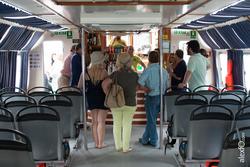 La gira gilbert y gaillard extremadura 2014 imparte una cata nautica en el barco del tajo la gira gi dam preview