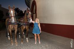 La gira gilbert y gaillard extremadura 2014 visita las bodegas de la plaza de toros y vinas de almen dam preview