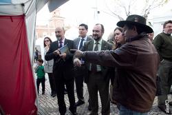 Inauguracion y recorrido institucional viii jornadas del gurumelo villanueva del fresno inauguracion dam preview