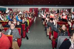 Ambiente en el teatro lopez de ayala concurso de murgas carnaval badajoz 2014 ambiente en el teatro  dam preview