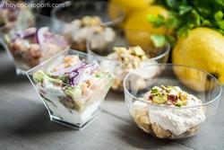 Nuestras especialidades yogur de foie y tartar de salmon dam preview
