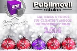 Publimovil rotulos 2014 feliz 2014 desde publimovil rotulos dam preview