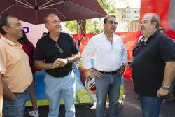 Gobex vuelta ciclista a espana el presidente monago asiste a la llegada de la sexta etapa de la vuel dam preview