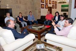 Gobex ugt nueva directiva el presidente del gobierno de extremadura jose antonio monago se reune con dam preview