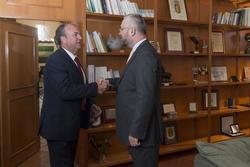 Gobex reunion con embajador de croacia el presidente del gobierno de extremadura jose antonio monago dam preview