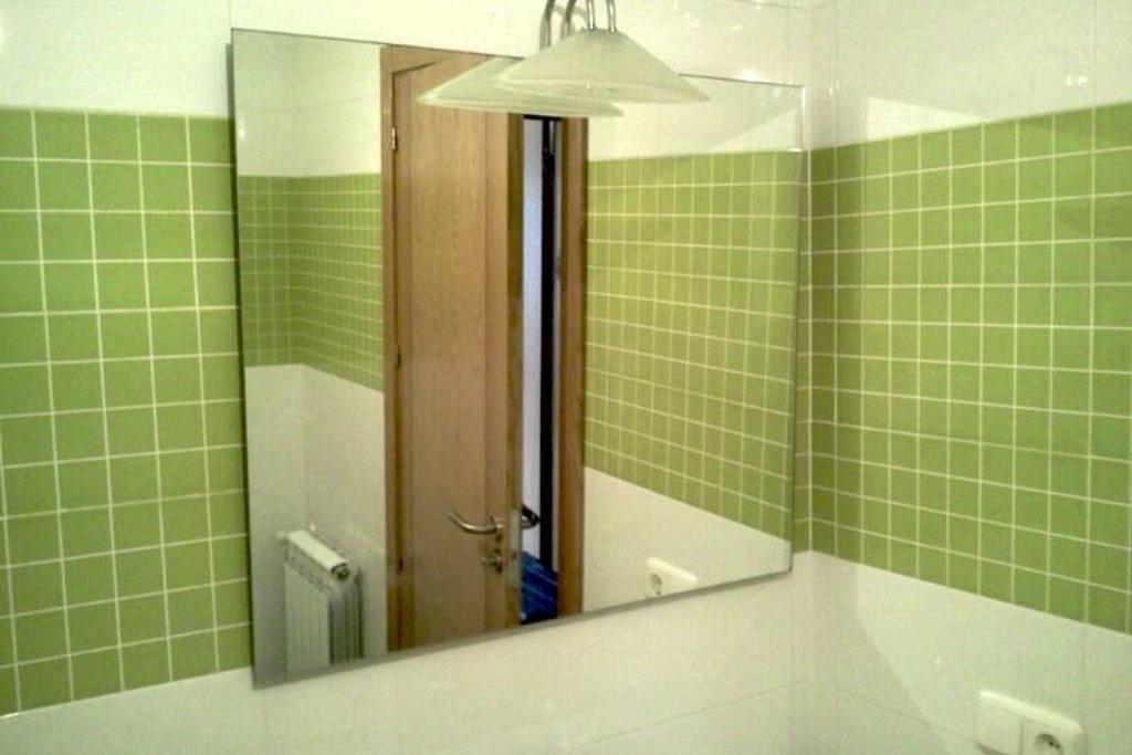 Espejo y l mpara de ba o plasencia espejo y l mpara de for Lampara espejo bano