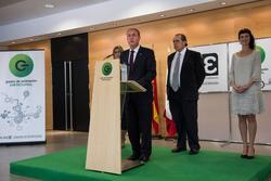 Gobex inauguracion pae don benito el presidente del gobierno de extremadura jose antonio monago inau dam preview