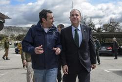 Gobex visita a mina aguablanca el presidente del gobierno de extremadura jose antonio monago visita  dam preview