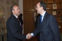 Gobex reunion con sec de estado el presidente del gobierno de extremadura jose antonio monago se reu dam preview