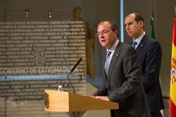 Gobex el presidente del gobierno de extremadura jose antonio monago presenta la ley de renta basica  dam preview