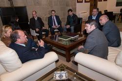 Gobex reunion con alcaldes la vera el presidente del gobierno de extremadura jose antonio monago se  dam preview