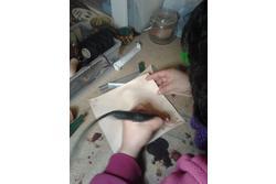 Clases de artesania en cuero 1 pirograbado dam preview
