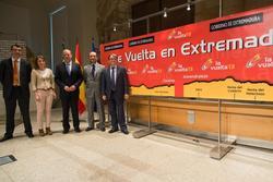 Gobex vuelta a espana 2013 el presidente del gobierno de extremadura jose antonio monago presenta la dam preview