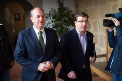 Gobex reunion monago vara el presidente del gobierno de extremadura jose antonio monago se reune con dam preview