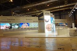 Previo stand extremadura en fitur 2013 fitur 2013 primeras imagenes del stand de extremadura en fitu dam preview