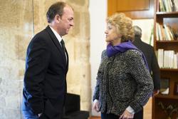 Gobex defensora del pueblo el presidente del gobierno de extremadura jose antonio monago se entrevis dam preview