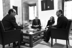 Gobex reunion con altadis el presidente del gobierno de extremadura jose antonio monago se reune con dam preview