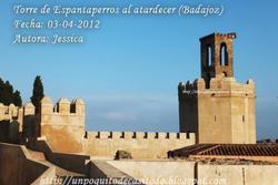 Badajoz torre de espantaperros dam preview