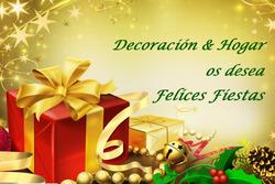 Felicitaciones navidenas decoraci n and hogar os desea que paseis unas buenas fiestas dam preview