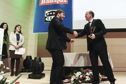 Gobex premios empresario de badajoz el presidente del gobierno de extremadura jose antonio monago as dam preview