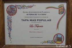Premio en la ix feria de la tapa ix feria de la tapa en plasencia dam preview