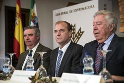 Gobex entrega de los premios espiga el presidente del gobierno de extremadura jose antonio monago as dam preview
