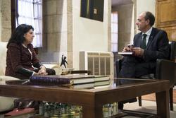 Gobex reunion con rosa elena munoz el presidente del gobierno de extremadura jose antonio monago rec dam preview